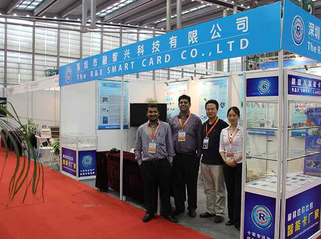 R&X attended 2013 Asian Smart Card and FRID Technology Exhibition successfully