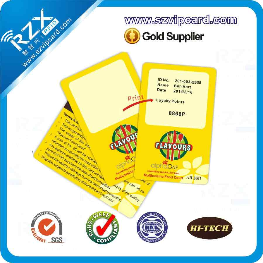Rewritable Card