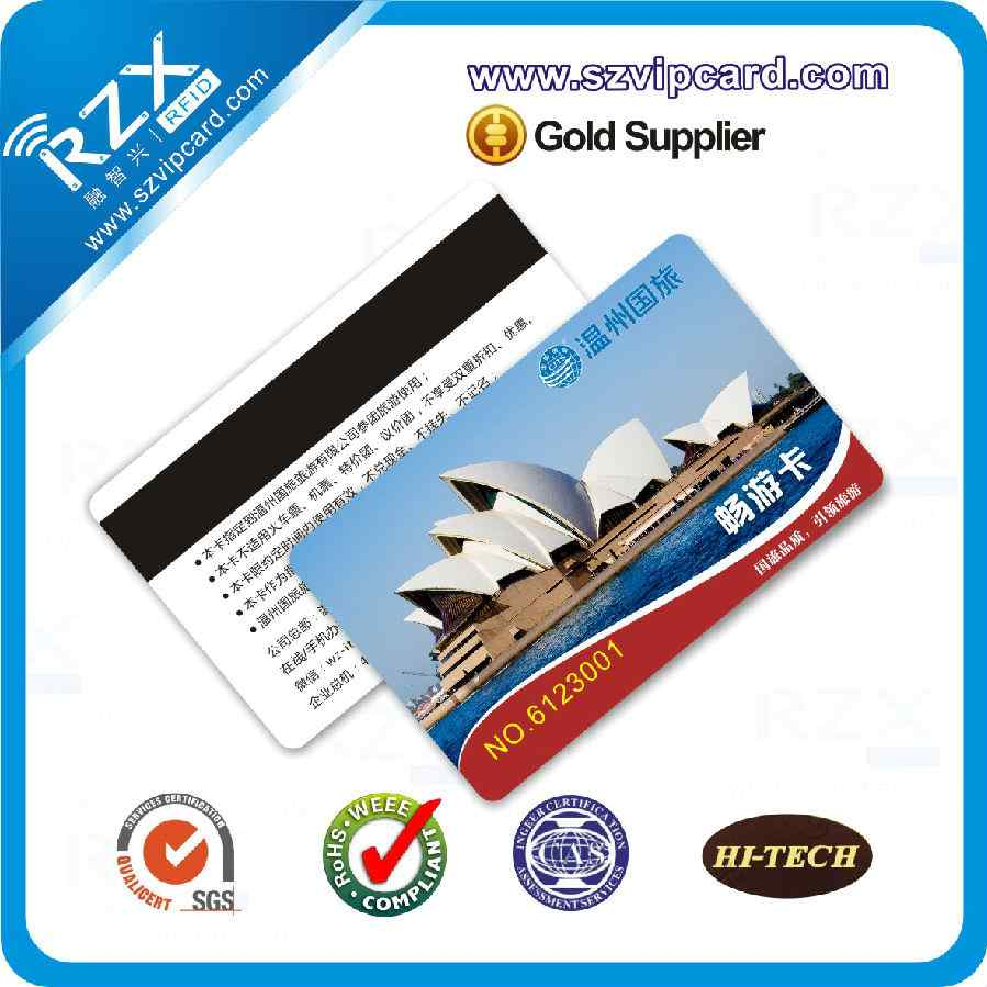 Loco 300 OE magnetic stripe card