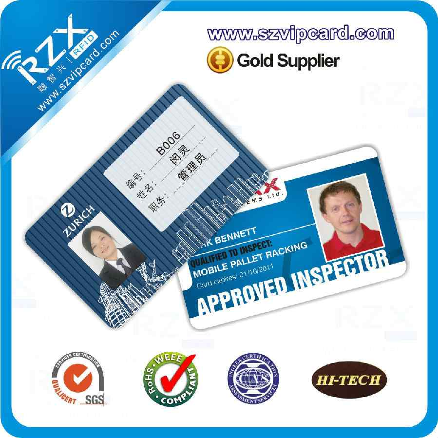 PVC photo ID card