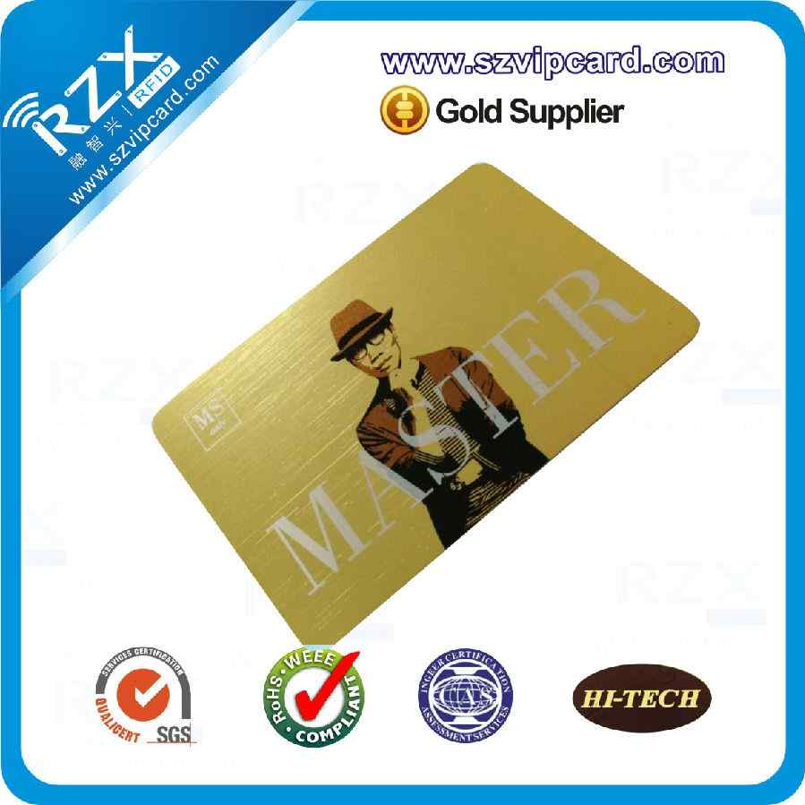 Drawing gold card