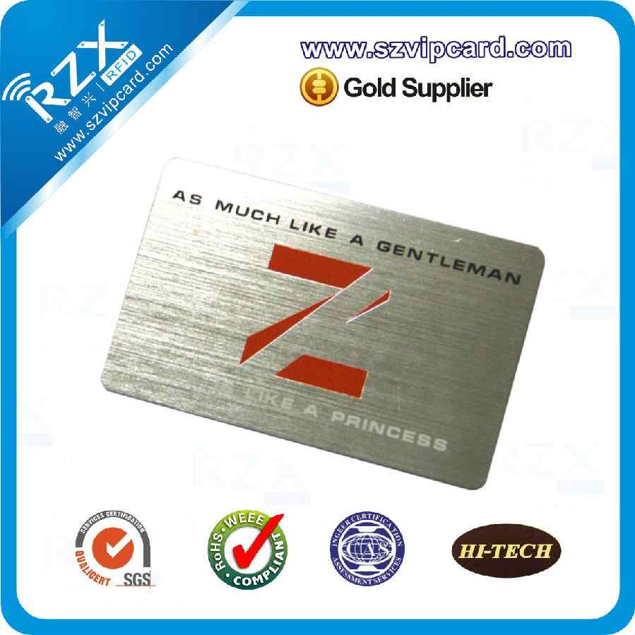 Drawing silver card